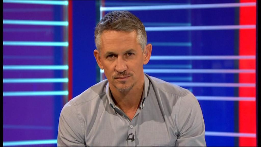 BBC Match of the Day - Gary Lineker taking part in Movember - WEEK 3