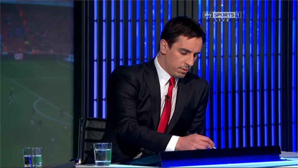 Gary Neville hits back as Man United fans say he didnt discuss Sturridges dive for Liverpool on TV [Tweets]