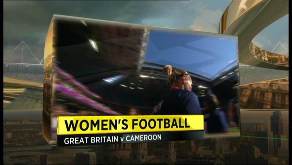 Example of BBC Sports graphics during London 2012 (1)