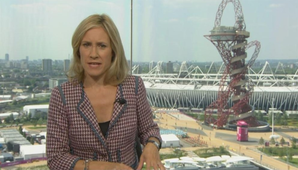 Images: Sophie Raworth Presents BBC News from Olympic Park