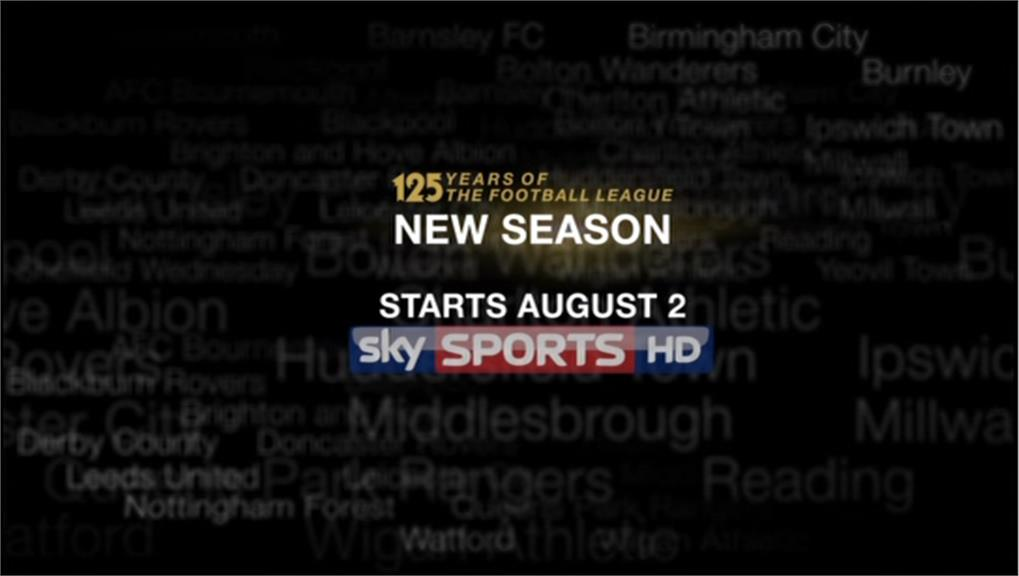 Sky Sports Promo 2013 - Football League - Its time to get back to business 07-15 23-29-59