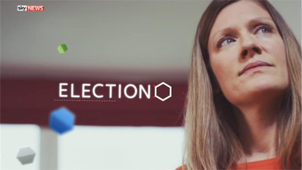Sky News Promo 2015 - General Election on Sky (2)