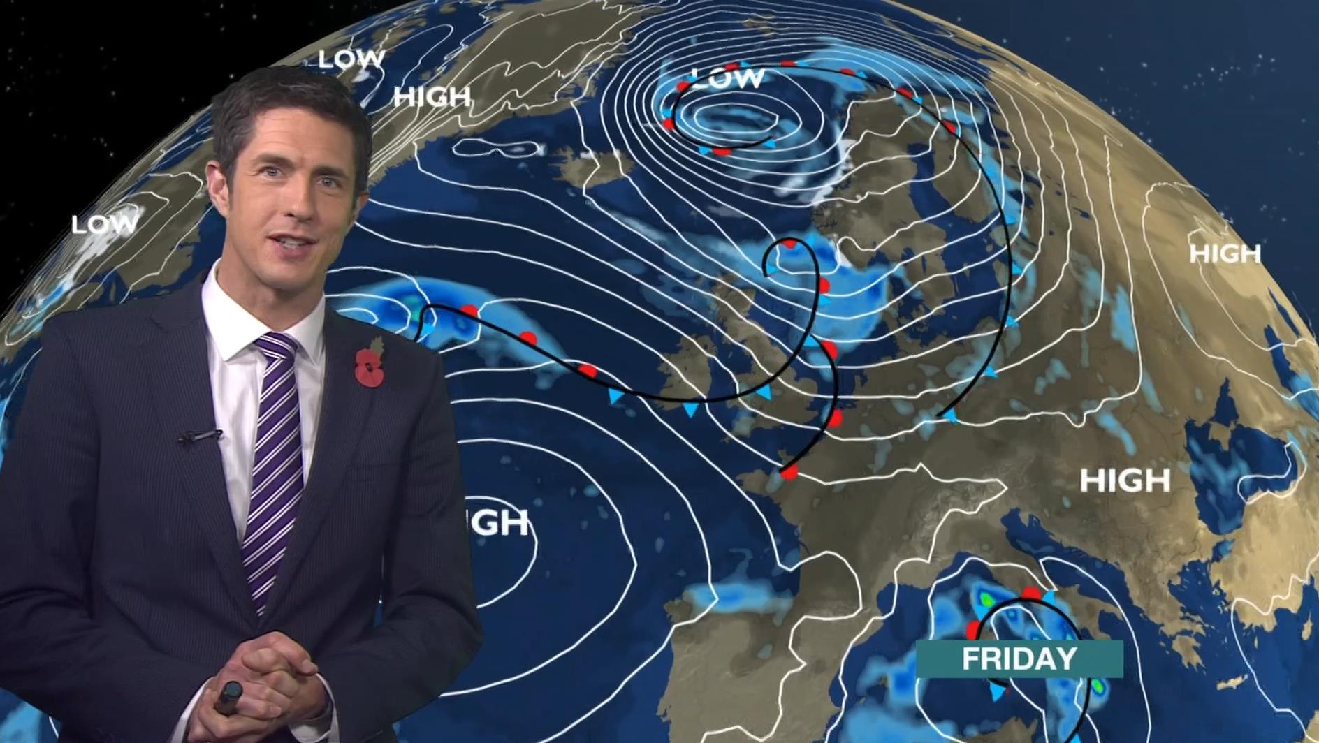 Chris Fawkes - BBC Weather Presenter (1)