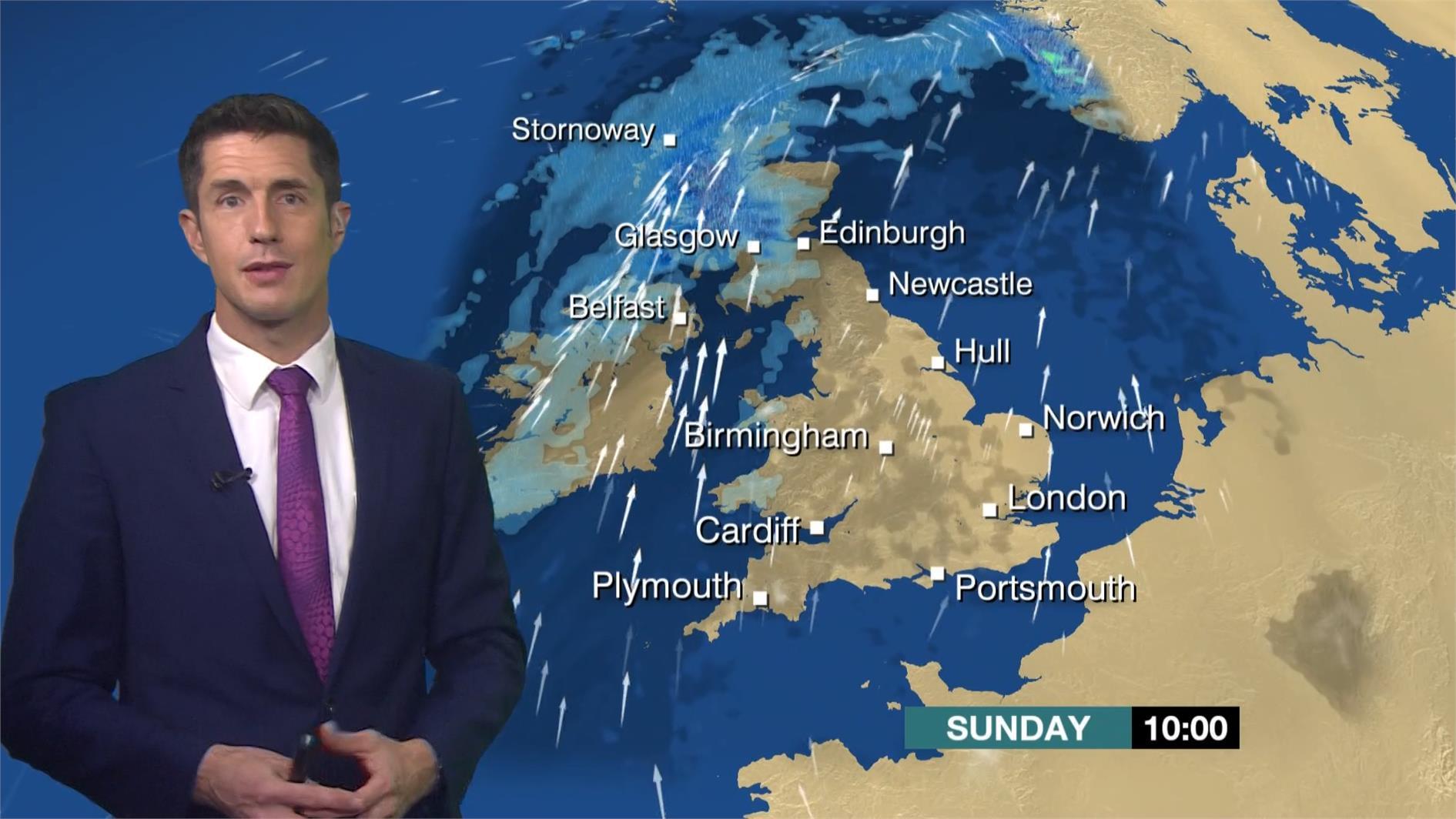 Chris Fawkes - BBC Weather Presenter (3)