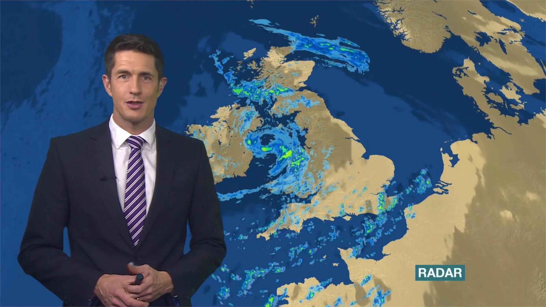 Chris Fawkes - BBC Weather Presenter (5)