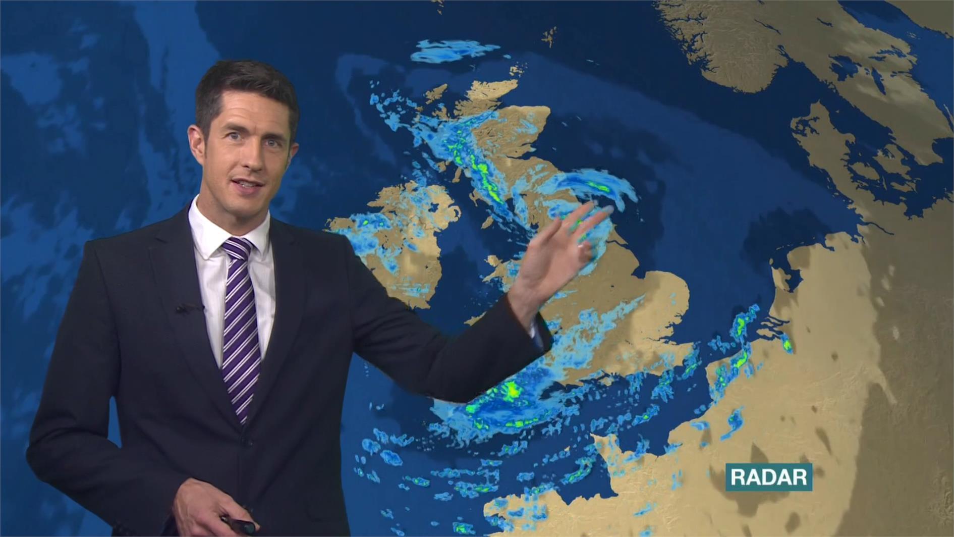 Chris Fawkes - BBC Weather Presenter (6)