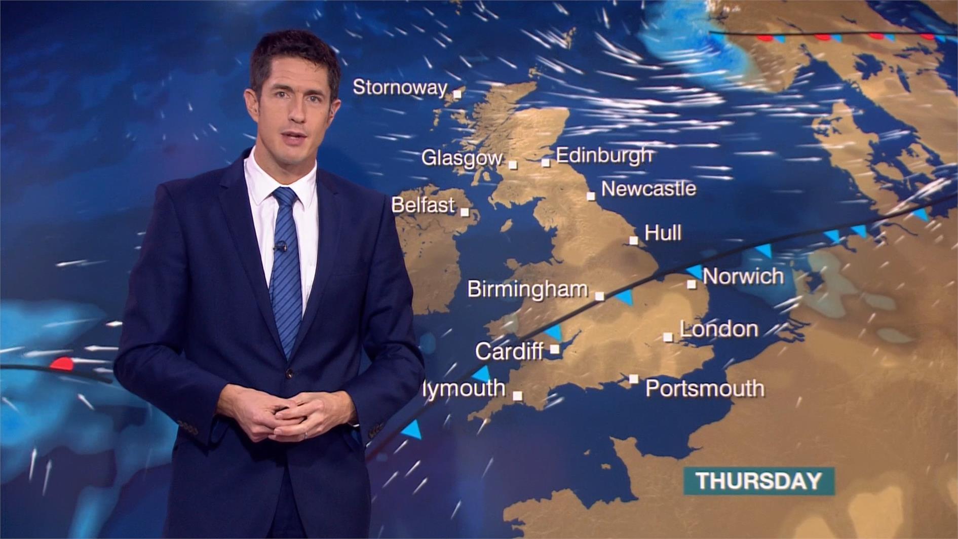 Chris Fawkes - BBC Weather Presenter (8)