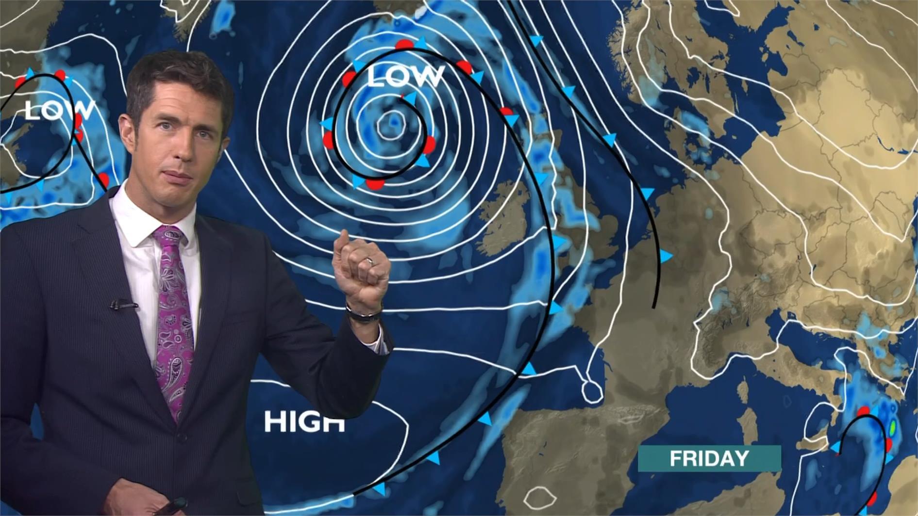 Chris Fawkes - BBC Weather Presenter (9)