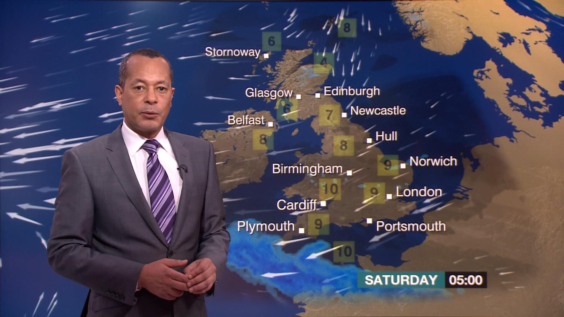 Jay Wynne - BBC Weather Presenter (1)