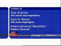 Sky News Presentation 2001