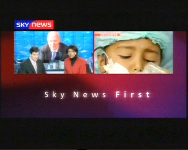 First in October – Sky News Promo 2003