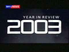 Year in Review – Sky News Promo 2003