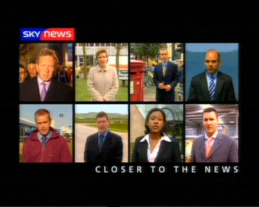 UK Correspondents – Sky News Promo 2003