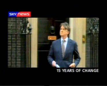 15 Years of Political News – Sky News Promo 2004