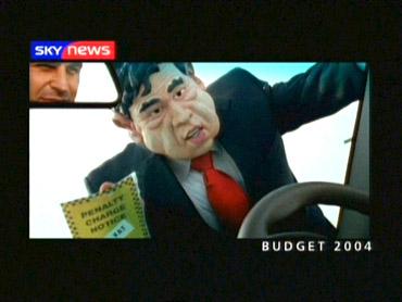 The Budget – Sky News Promo 2004