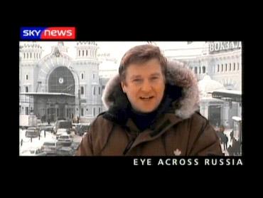 Eyes Across Russia – Sky News Promo 2004
