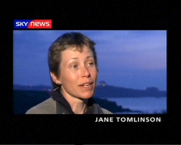 Jane Tomlinson – Sky News Promo 2004