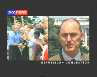 U.S. Republican Convention – Sky News Promo 2004