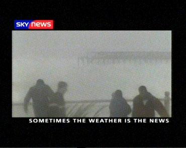 Weather Makes the News – Sky News Promo 2004