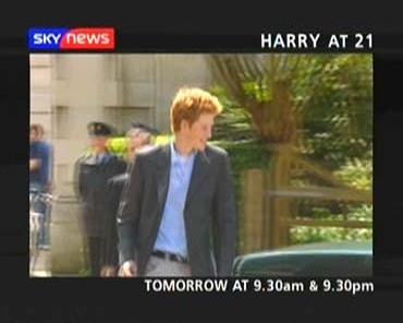 Prince Harry's 21st Birthday – Sky News Promo 2005