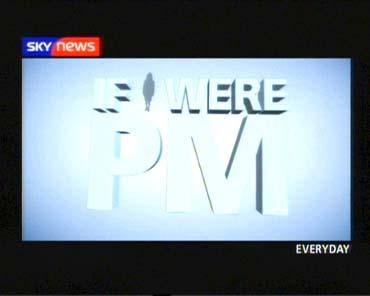 If I Were PM – Sky News Promo 2005