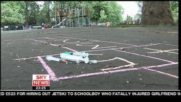 Crime Uncovered hopscotch – Sky News Promo 2007