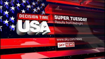Super Tuesday – Sky News Promo 2008