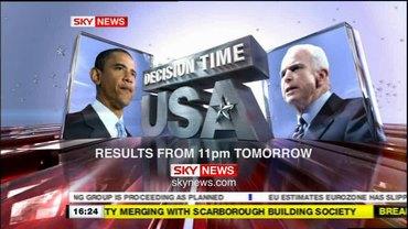 Decision Time – Sky News Promo 2008
