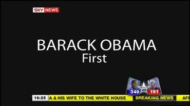 First For Obama – Sky News Promo 2008