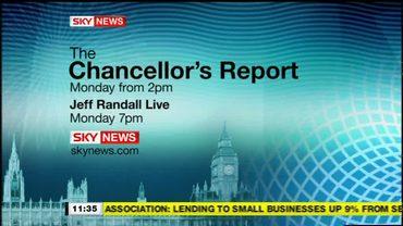 Chancellor's Report – Sky News Promo 2008