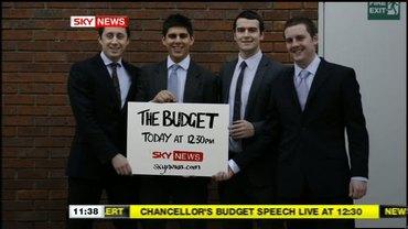 The Budget – Sky News Promo 2009