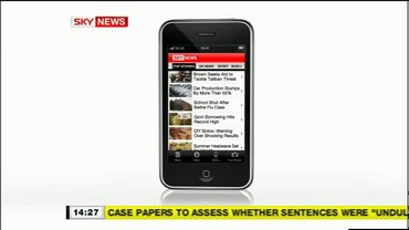 Ipod / Itouch – Sky News Promo 2009