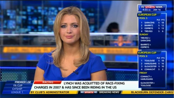 Hayley McQueen – Sky Sports News Presenter (5)