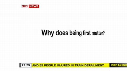 Why First Matters – Sky News Promo 2009