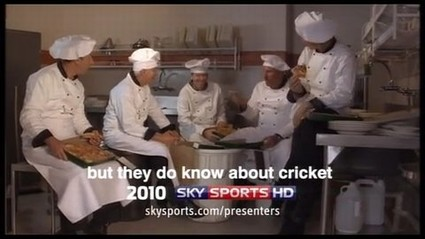 Sky Sports Cricket Presentation