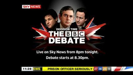 Third Leaders' Debate – Sky News Promo 2010