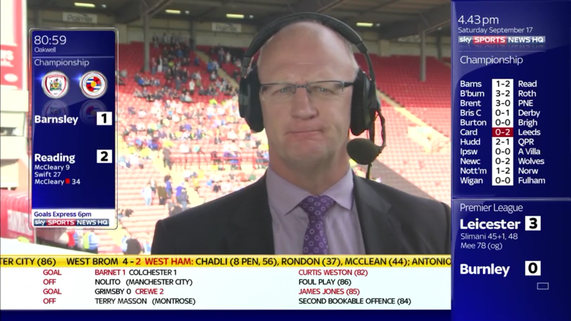Iain Dowie - Sky Sports Football (1)