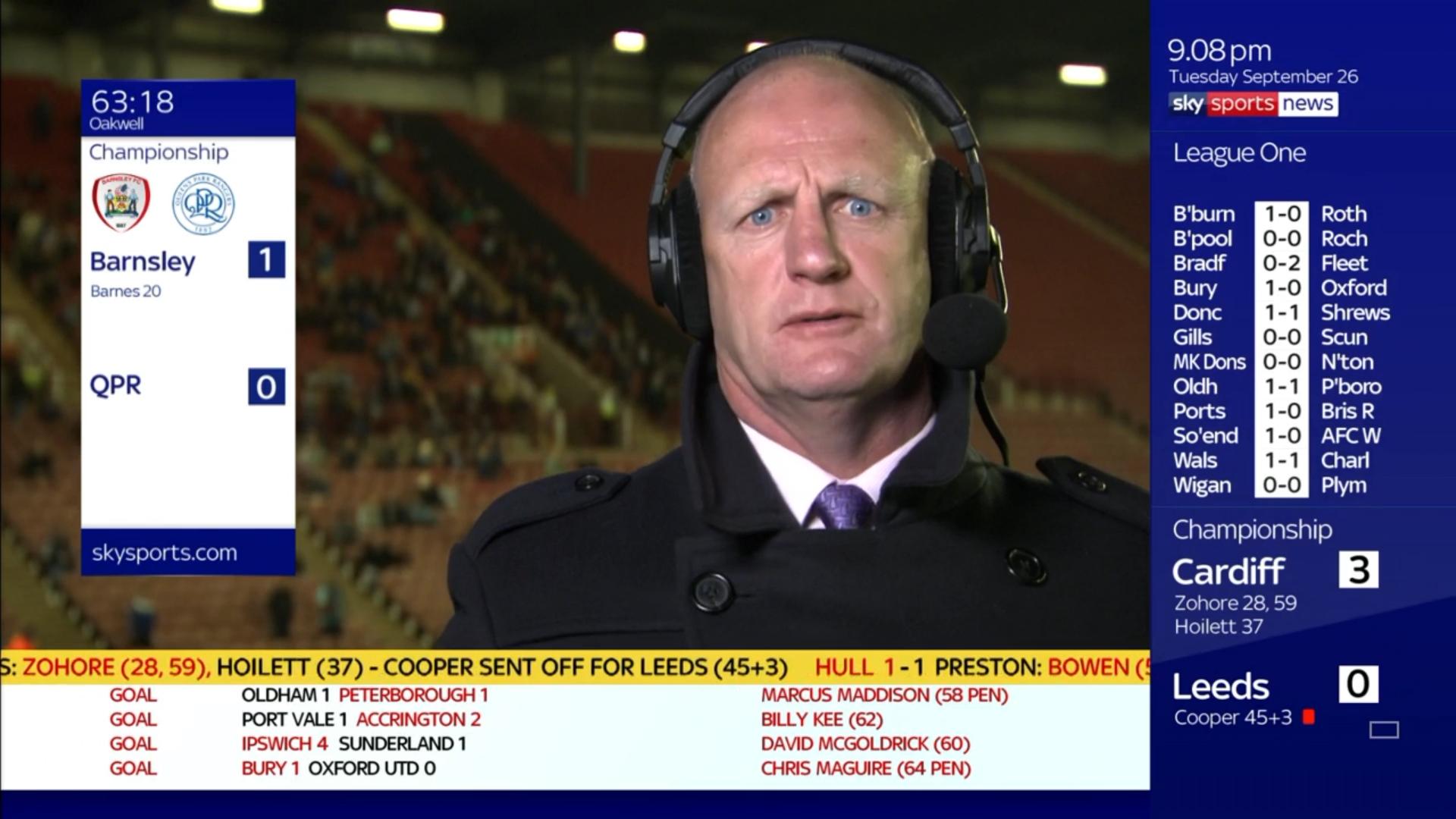 Iain Dowie - Sky Sports Football (2)