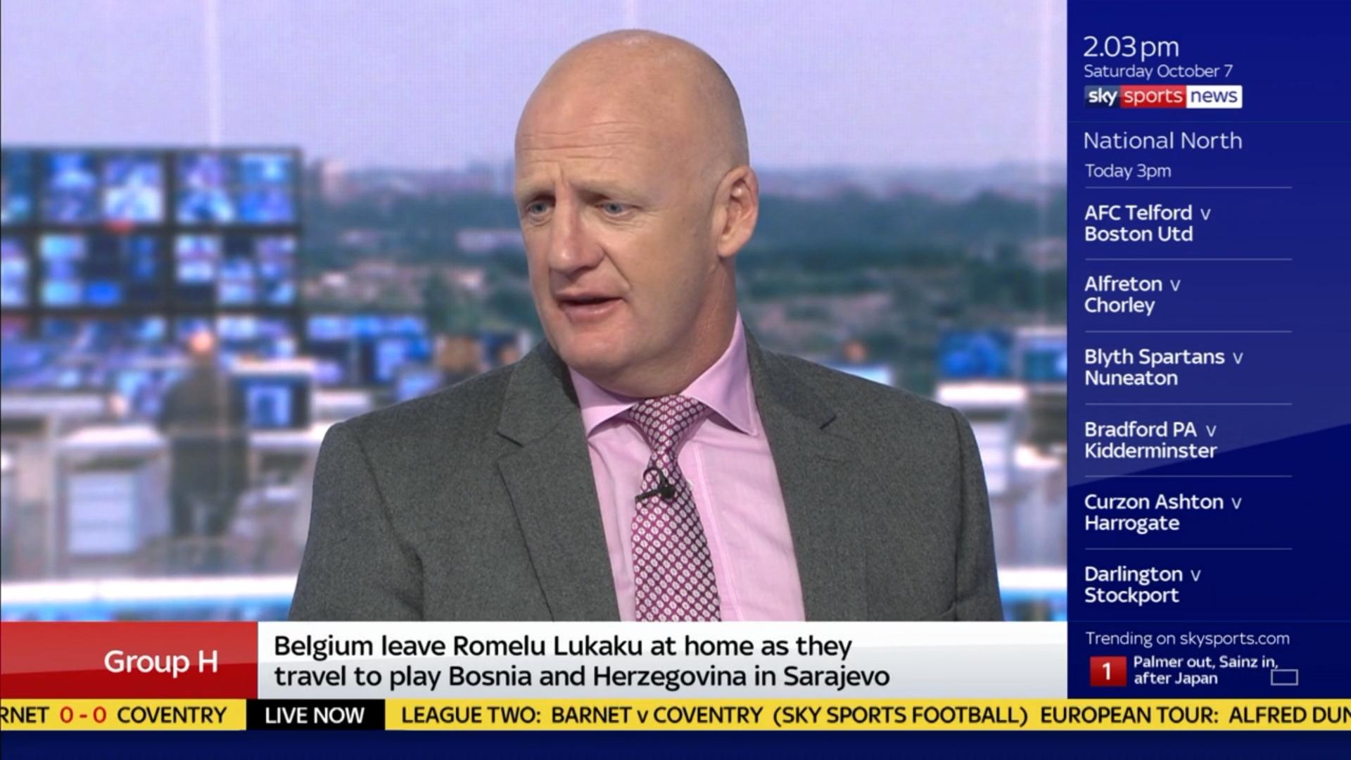 Iain Dowie - Sky Sports Football (4)