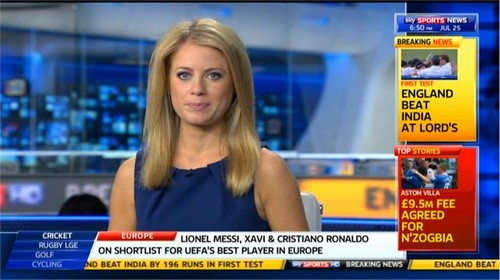 Rachel Wyse - Sky Sports News Presenter (2)