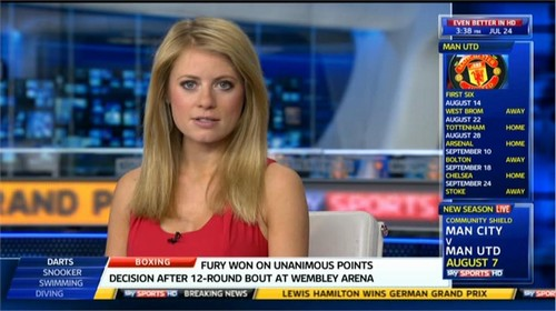 Rachel Wyse - Sky Sports News Presenter (4)