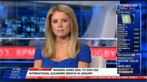 Rachel Wyse - Sky Sports News Presenter (5)