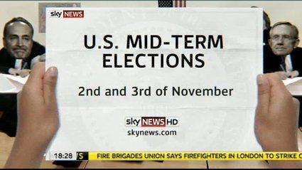 U.S. Mid-Terms – Sky News Promo 2010