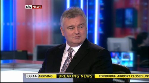 Eamonn Holmes awarded OBE in New Year's Honours list 2018
