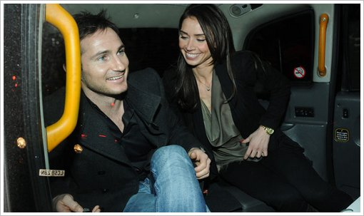 Bleakley and Lampard are engaged