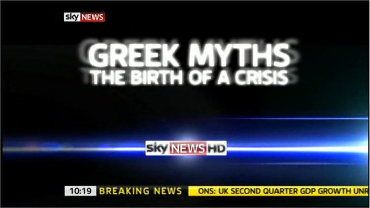 Greek Myths: The Birth of a Crisis