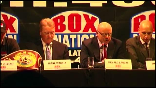 Frank Warren launches Boxing Channel