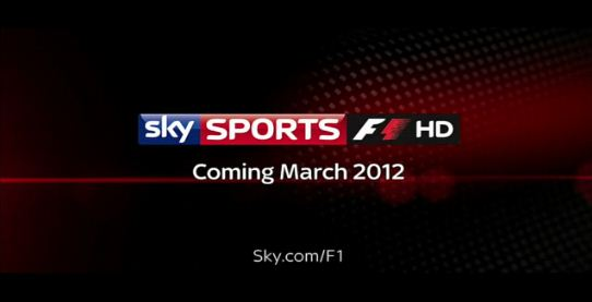 Sky Sports to launch Formula 1 channel