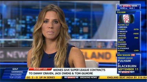 Georgie Thompson to leave Sky Sports News today