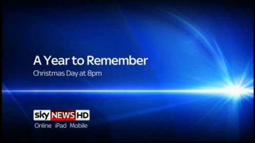 A Year to Remember – Sky News Promo 2011